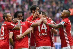 "Miuncheno ""Bayern"" atgavo Vokietijos futbolo čempionato lyderio poziciją"
