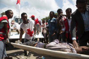 Etiopijoje kilus spūsčiai per religinę šventę žuvo 52 žmonės