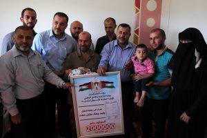 Gazos Ruožo gyventojų skaičius perkopė du milijonus