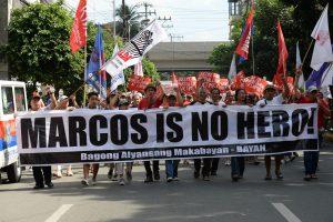 Filipinų diktatorių F. Marcosą leista palaidoti kaip didvyrį