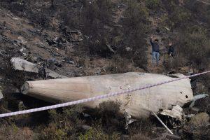 Lėktuvo katastrofos Pakistane aukos bus atpažintos pagal DNR