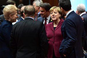 ES šalių vadovai sutarė pratęsti ekonomines sankcijas Rusijai