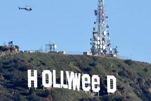 Ekstremalai juokingai iškraipė garsųjį Holivudo ženklą