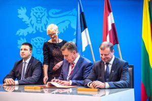 """Baltijos šalys patvirtino: projektas """"Rail Baltica"""" bus įgyvendintas"""
