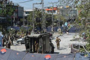 Per išpuolį prabangiame Pakistano rajone žuvo mažiausiai aštuoni žmonės