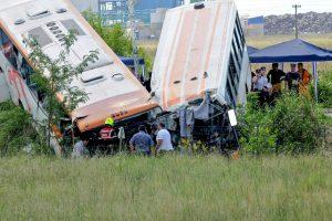 Autobusų kaktomuša Argentinoje, žuvo 13 žmonių