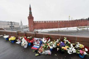 Maskvos komunalininkai išardė B. Nemcovo memorialą