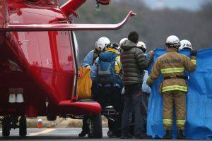 Japonijoje sudužus sraigtasparniui žuvo devyni žmonės