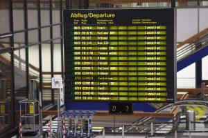 Streikai Berlyno oro uostuose: atšaukta beveik 90 proc. skrydžių