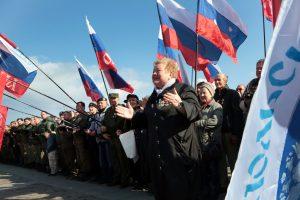 Rusija mini trečiąsias Krymo prijungimo metines