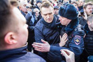 Rusiją krečia nauji protestai, sulaikytas A. Navalnas