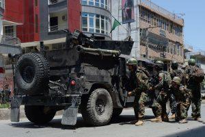 Afganistane ginkluoti užpuolikai atakavo nacionalinio transliuotojo biurą