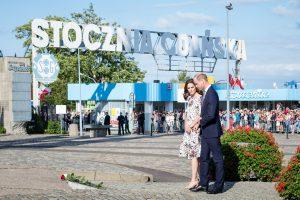Britų karališkoji pora Lenkijoje aplankė Štuthofą ir Gdanską