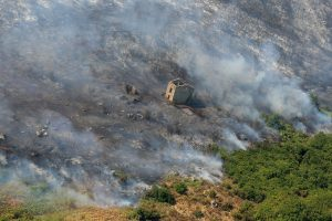 Dėl miško gaisro Prancūzijoje evakuota 10 tūkst. žmonių