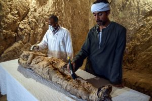 Egipte archeologai rado du senovinius kapus