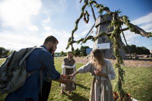 Kupolinėse prie Žaliūkių malūno – gyvosios archeologijos potyriai