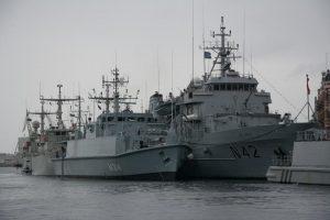 Lietuvos karininko vadovaujami NATO laivai lankėsi Norvegijoje