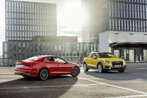 """,,Audi A5"""" ir ,,Audi Q2"""" – aukščiausias saugumo įvertinimas"""