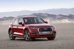"""Antrosios kartos """"Audi Q5"""" – dar sportiškesnis"""