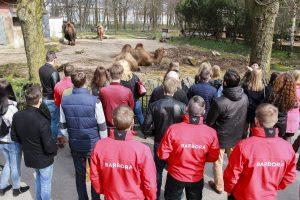 Zoologijos sodo gyvūnams – tūkstančius kilogramų sveriančios dovanos