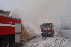 Prokurorų prašo pradėti tyrimą dėl didžiulio gaisro Radviliškyje