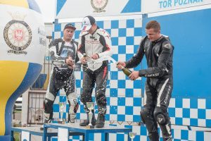 Poznanės trasoje laimė nusišypsojo ir Lietuvos motociklininkams