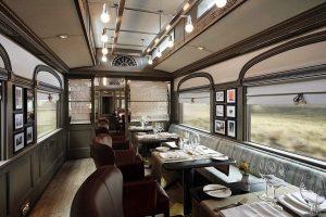 Prabangiausi pasaulio traukiniai: nuo asmeninių liokajų iki SPA kambarių