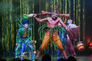 """""""Cirque du Soleil"""" spektaklį į Vilnių atvežė per 20 sunkvežimių ir autobusų"""