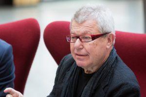 Sostinėje viešintis D. Libeskindas: Vilnius yra jaunas ir atviras miestas