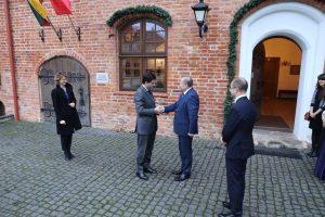 Ambasadorius Raudondvaryje rado prancūziškų pėdsakų