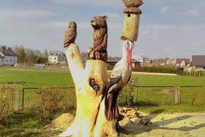 Skulptoriai Neveronyse mėgins prakalbinti ąžuolą (čempionato programa)