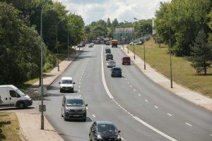 Sostinėje atnaujinta Dunojaus gatvė