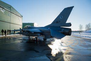 NATO oro policijos misiją perėmė Nyderlandų kariai