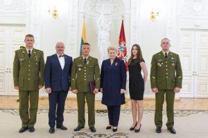 Apdovanoti Lietuvą garsinantys žmonės
