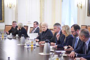 D. Grybauskaitė: Europos pareiga – daugiau investuoti į savo saugumą