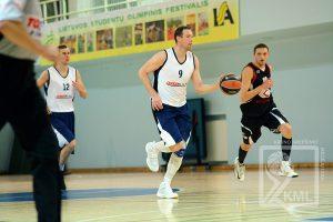 D. Songaila debiutavo Kauno mėgėjų krepšinio lygoje
