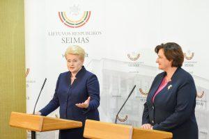 Prezidentė tikisi, kad Seimas pritars jos Darbo kodekso variantui