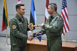 Baltijos šalių oro policijos misiją Lietuvoje perėmė Danija