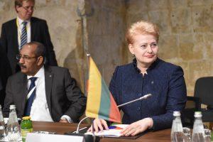 D. Grybauskaitė: sienų kontrolės atnaujinimas neišvengiamas