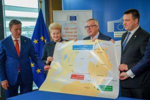 Baltijos šalys ir Lenkija Briuselyje sutarė dėl sinchronizacijos