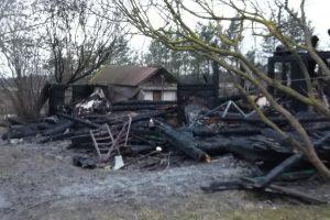 Kretingos rajone per gaisrą žuvo žmogus