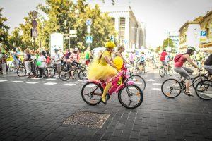 Sekmadienį Vilnius priklausė dviratininkams