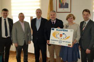 Klaipėda siekia tapti Europos sporto miestu