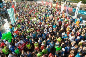 Vilniaus maratone – R. Kančio bei Baltarusijos ir Ukrainos bėgikų triumfas