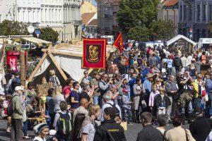 Vilniuje šurmuliuoja Šv. Baltramiejaus amatų mugė
