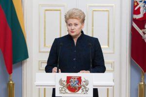 D. Grybauskaitė – aštuoneri metai prezidento poste