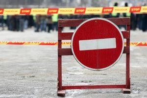 Informacija vairuotojams: dėl renginių – eismo apribojimai