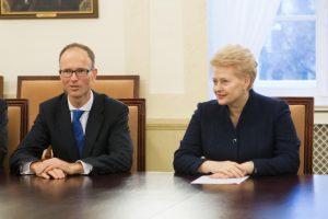 Prezidentė su Teisėjų taryba aptarė, kaip stiprinti teismų darbą