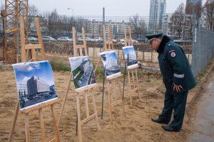 Vilniuje pradedamos naujos areštinės ir komisariato statybos