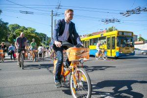 R. Šimašius: klaidos dviračių takuose bus taisomos šiemet